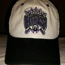 Nba Sacramento Kings Embroidered Logo Adidas and Reebok Flexfit Ball Cap Hat  Photo