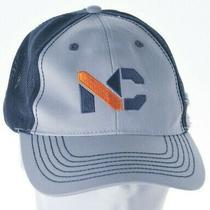 Nc Ness Campbell Crane-Rigging Cap Hat Black/gray Adjustable Photo