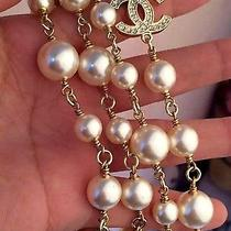 Necklace Chanel Pearl Photo