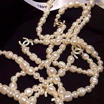 Necklace Chanel Pearls Photo