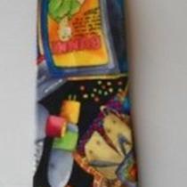 Necktie Tie Nicole Miller 1991 Zenith Usa Everything Tv Television Tubes  Silk Photo