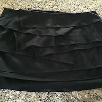 Nee Bebe Asym Tiered Mini Skirt Size 10 Nwt Photo