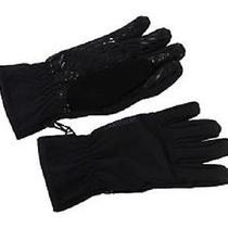 Neew Burton Men Softshell Liner Snowboarding Gloves - Size Xl - True Black -  Photo