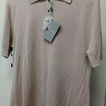 Neiman Marcus Blush/tan Cashmere Collection Collared Shirt Xl -New With 265 Tag Photo