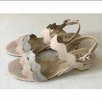 Neiman Marcus Huggy Blush Sandals Photo