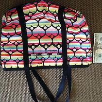 Neiman Marcus Le Sport Sac Rainbow Tote Photo
