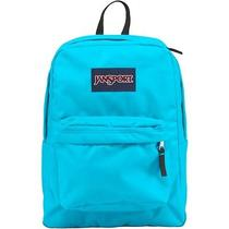 Neon Blue Jansport Backpack Photo