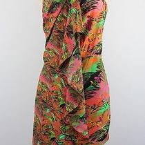 Neon for Impulse Strapless Floral Print Dress Size 0 Lulu Photo