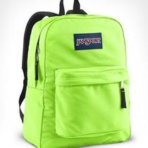 Neon Green Jansport Backpack Photo