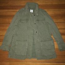 Never Been Worn Gap N W/o T Womens Army Green Military Utility Jacket Size Xs Photo
