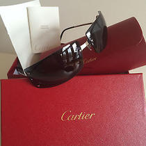 Never Worn 100% Authentic Cartier Sunglasses Photo