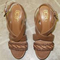 Never Worn Bcbg Leather Heels Size 8 Photo