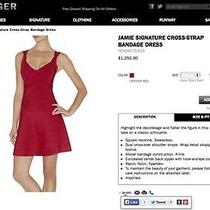 Never Worn / Nwt Herve Leger Red Dress Photo