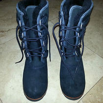 Never Worn Ugg Size 8 Black Boots Photo