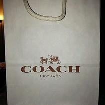 New - (1) Coach Gift Bag (10