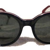 New 100% Genuine Emporio Armani Sunglasses Ea4043 Red/white/blue Cat Eye 55mm Photo