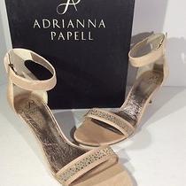 New 119 Adrianna Papell Avril Blush Heel Ankle Strap Sandals Sz10m Z10-622 1k Photo