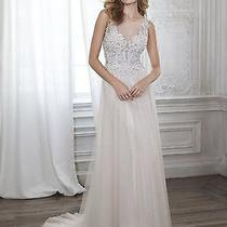 New- 1200 Orig Maggie Sottero Westlyn Wedding Dress - Blush/ivory - Size 16 Photo