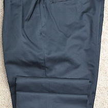 New 1250 Gucci Mens Recent Silk Wool Dress Pants Trousers Size 56r 40 X 33 Photo