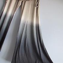 New 140 Young Fabulous & Broke Sierra Pant Wide Flare Leg - Size S - Ombre Photo