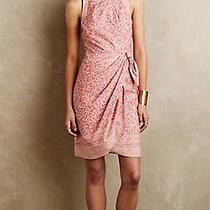 New 148 Anthropologie Hd in Paris Margate Dress Blush Pink Size Medium M Sheath Photo