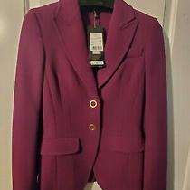 New 1525 Nwt Escada Wool Jacket 32 Luxury Stunning Photo
