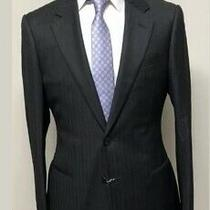 New (1600) Armani Collezioni Men's Grey Suit Jacket Size 38 Made in Italy Photo