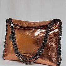 New 1650 Stella Mccartney Copper Rose Falabella Small Tote Bag Photo