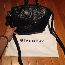 New 1715 Givenchy Black Micro Messenger Nightingale Calf Leather Bag Crossbody Photo