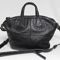 New 1715 Givenchy Black Micro Messenger Nightingale Calf Leather Bag Photo