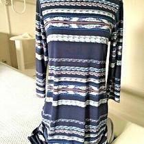 New 178.00 Bcbg Max Azria Jersey Knit Dress M  Photo