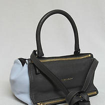 New 1850 Givenchy Small Color Block Goat Leather Pandora Messenger Bag Photo