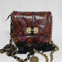 New 1975  Lanvin Python Pop Happy en Mouton Mini Messenger Bag  Photo