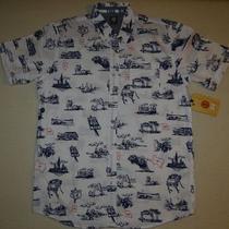 New 2013 Element Mens Short Sleeve Woven Shirt Large Photo