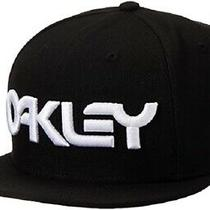New 2020 Oakley New Era Mark Ii Flatbill Adjustable Black Snapback Hat Photo