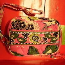 New  25.00 Vera Bradley Tech Case Priscilla Pink  Pattern   Holds Iphone Etc Photo