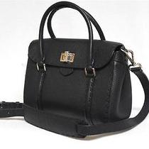 New 2650 Fendi Selleria Linda Mini X Body Messenger Black Leather Bag Photo