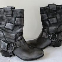 New 275 Rosegold Maynard Women Boots 8/38 Metallic Blk Photo