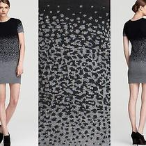 New 370 Cut25 Yigal Azrouel Degrade Speckle Animal Knit Sweater Dress Med 6/8 Photo