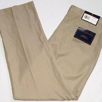 New 38x32 Tommy Hilfiger Traveler Flat Front Microfiber Casual/dress Pants Nwt Photo