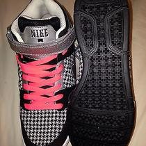 New 407479-163 Womens Nike Air Morgan Mid 2 Athletic Skate Shoe 8.5 Black/white Photo