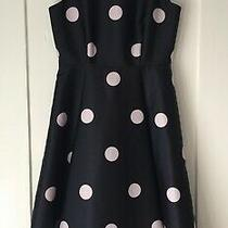 New 478 Kate Spade Navy/pink Sz 2 Dress Fit & Flare Midi Wedding Sale  75% Off Photo