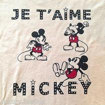 New 49 Atsuyo Et Akiko Disney Mickey Mouse Designer T Shirt Top Sold Out Rare Photo