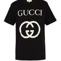 New 550 Gucci Black Interlocking Gg T-Shirts Ltd Ed - Size Medium - Last One Photo