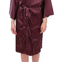 New 555 Dolce & Gabbana Robe Kimono Gown Silk Dressing Lingerie It1 / Us4 / Xs Photo