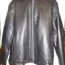New 56 58 3-5x Mens Black Motorcycle Jacket 600 Thick Mans Biker Coat Liner Photo