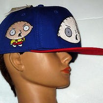 New 5950 Snap Back Tv Family Guy Baby Stewie Griffin Men's Osfm Baseball Cap Hat Photo