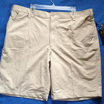 New 60 Under Armour Loose Fit 1236343-240 Heatgear Flat Front Shorts Men's 42 W Photo
