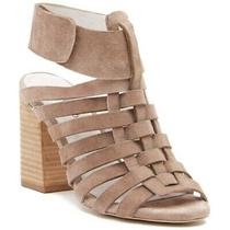 New 8 Jeffrey Campbell Sinaloa Taupe Suede Cutout Sandals Heel Free People 170 Photo