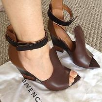 New 890 Givenchy Runway Wedges Sandals. Sz37 Photo